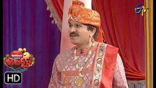 Rocket Raghava Performance | Jabardasth |  19th July 2018 | ETV  Telugu