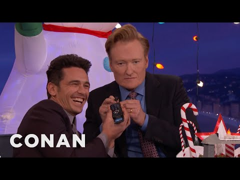 James Franco Answers Disaster Artist Phone Number Conan On Tbs