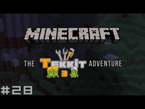 Minecraft - The Tekkit Adventure #28 - B.A.R.R.Y
