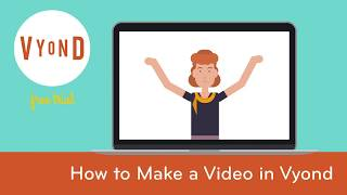 How To Make a Video In Vyond - Vyond Studio Tour