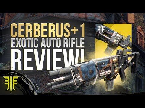 Destiny 2: Cerberus +1 NEW EXOTIC Auto Rifle Review! New Forsaken Exotic Weapon! thumbnail