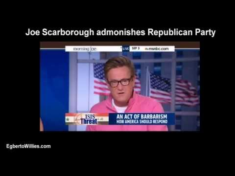 Joe Scarborough scolds Republicans for President Obama Ukraine ISIS policy potshots