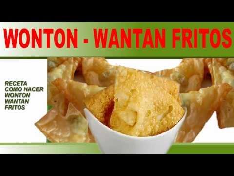 RECETA PARA HACER WONTON - WONTON FRITO - WONTON FRITO RECETA FACIL - WONTO FRITO CHINO