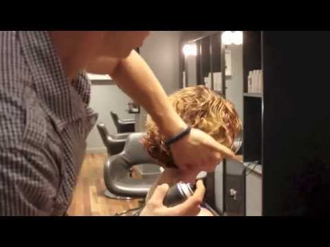 Long to Short Curly Hair Model Lara Schroeder Final