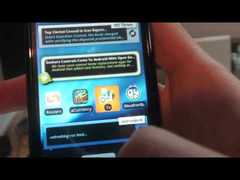 HTC Magic (My Touch 3G) walkthrough 2 / 10 (Android)