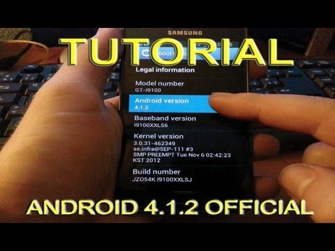 Jelly Bean Oficial 4.1.2 Galaxy S2 tutorial Instalar y Root