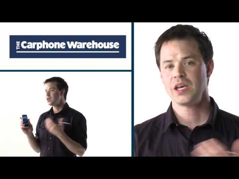 INQ Cloud Touch demo from The Carphone Warehouse