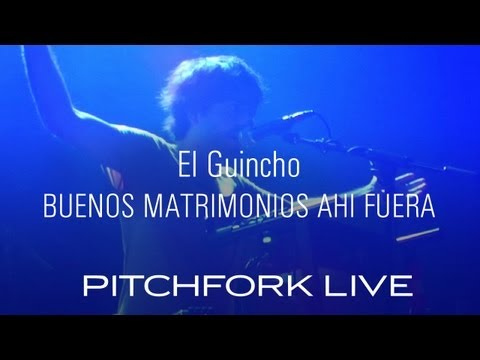 El Guincho - Buenos Matrimonios Ahi Fuera - Pitchfork Live