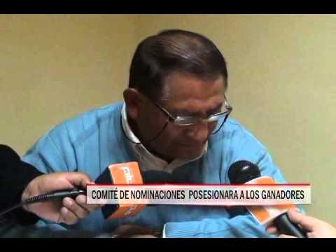15/09/2014 - 13:00 COMITÉ DE NOMINACIONES  POSESIONARA A LOS GANADORES