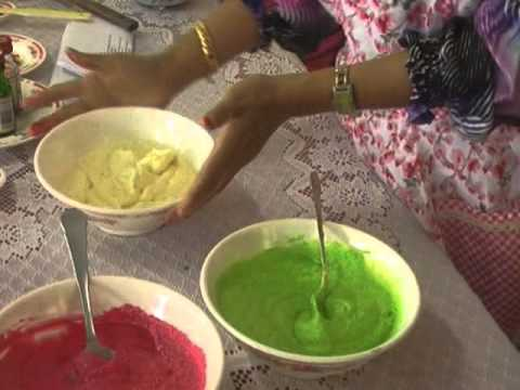 Cara membuat kek cawan pelangi.wmv
