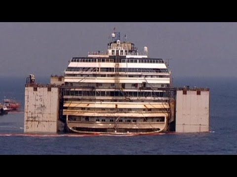 Costa Concordia timelapse - no comment