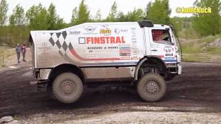 Mercedes-Benz Axor Team Finstral Rally at Baja-Saxonia 2010