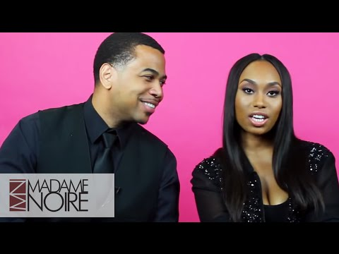 Omar Gooding and Angell Conwell Talk Dating Each On And Off Screen