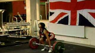 "Zoe ""Pablo"" Smith Clean and Jerk 92 KG @ Juniors - SEE DESCRIPTION"