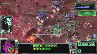 All In (Nydus Route) Brutal Walkthrough - Starcraft 2: Wings of Liberty