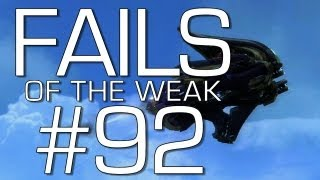 Fails of the Weak: Ep. 92 - Funny Halo 4 Bloopers and Screw Ups! | Rooster Teeth