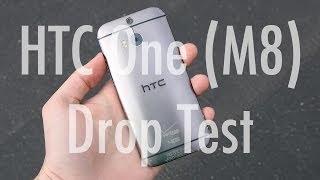 HTC One M8 düşme testi