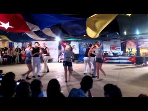 Salsa On The Beach 2014 - Rueda de Casino (Latin Motion)