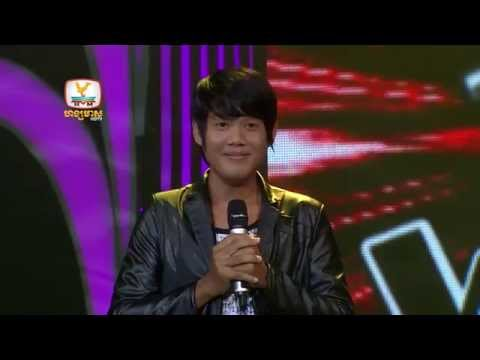 The Voice Cambodia - Dermbey Avey Tov Oun - ​Khan Sokhean - 17 Aug 2014