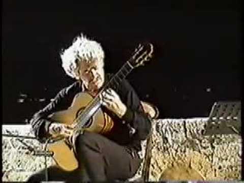 Hubert KAPPEL, CORFU FESTIVAL, plays Agustin Barrios Mangore
