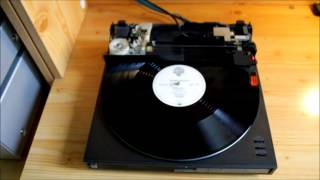 How it Works? Linear Turntable - Technics SL-J1