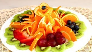How To Make Delicious Fruit Sliced | Decorate Fruit | Fruit & Vegetable Carving Lessons
