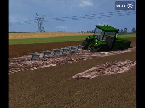 Landwirtschafts simulator 2009 LS 2009 Wpadka john deere 8530
