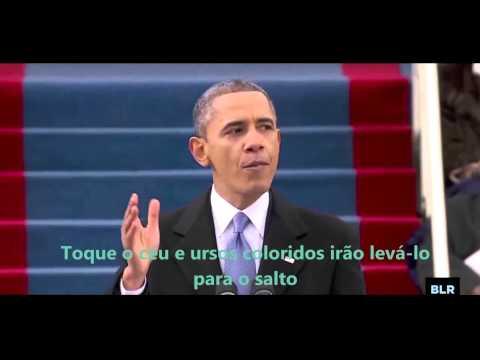 A Bad Lip Reading of Barack Obama's Inauguration (Legendado PT-BR)