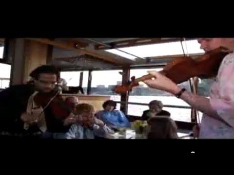 Mark O'Connor/DBR - Two-Violin Jam on the Hudson River