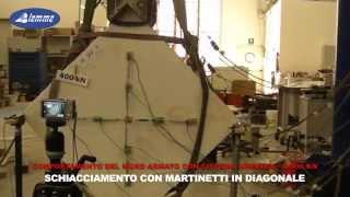 Test Sistema Armatex - c/o Università degli Studi di Bergamo / Ingegneria
