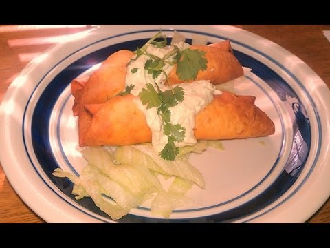 How To Make ...Chicken Flautas