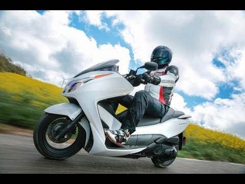 Test-Video | Honda Forza 300 | Roller Test 2013