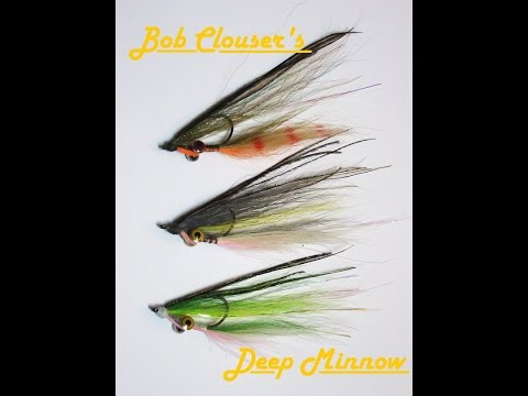 How to Tie Bob Clouser's Deep Minnow