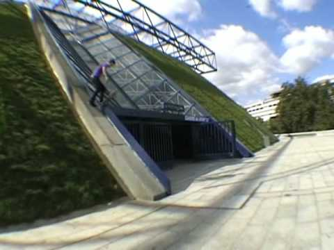 Paris Spot par Spot Part 1 - Skateboard