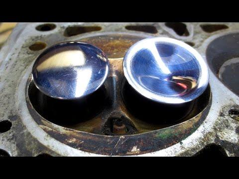 Практика ДВС - тюнинг клапанов без станков - homemade tuning valves