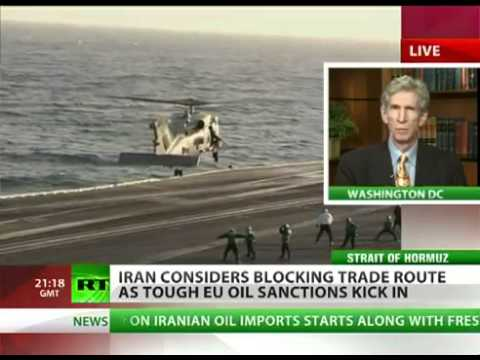 Build up to WW3: Strait of Hormuz IRAN SHIPPING blocked by MINES, US REACTS by sending minesweepers