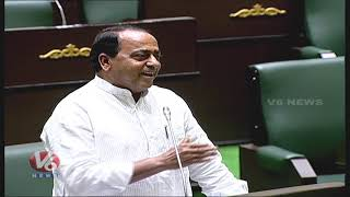 Indrakaran Reddy Speaks About Pocharam Srinivas Reddy, Elected As TS Assembly Speaker