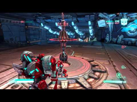 Transformers Fall of Cybertron Demo Multiplayer Gameplay Part 8 - Neck and Neck