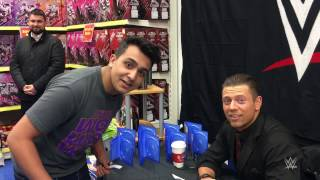 An uneasy autograph session with The Miz in Birmingham England