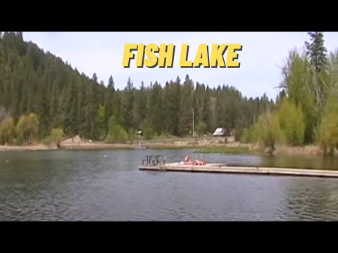Fish Lake in Spokane County