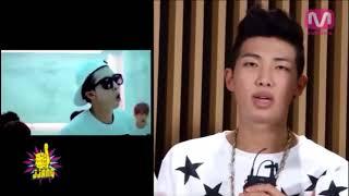 Kim Namjoon?s (BTS RM) English in 2013 vs. 2017