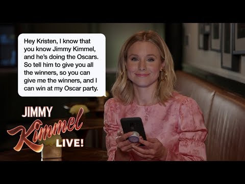 Celebrities Read Texts from Their Moms #1