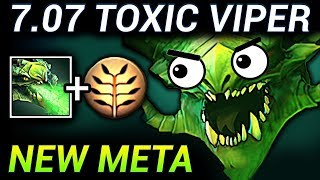 TOXIC VIPER - DOTA 2 PATCH 7.07 NEW META PRO GAMEPLAY