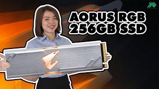 Review - Test nhanh GIGABYTE AORUS RGB 256GB SSD – M.2 NVMe