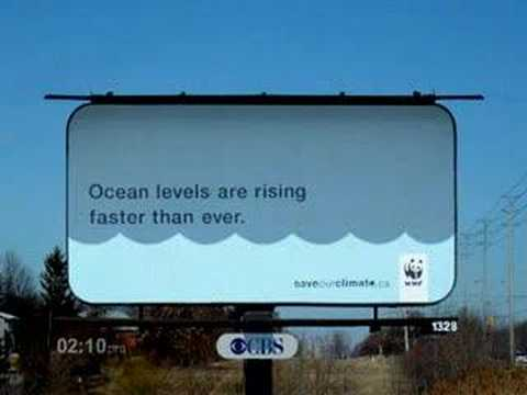ocean levels are rising