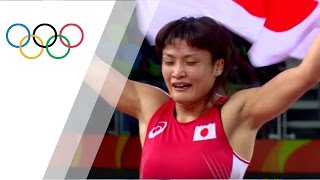 Rio Replay: Women's Freestyle Wrestling 58kg Final Bout