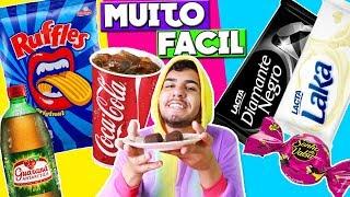 COMO FAZER REFRIGERANTE, CHOCOLATE E SALGADINHO EM CASA