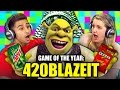GAME OF THE YEAR: 420BLAZEIT (Teens React: Gaming)
