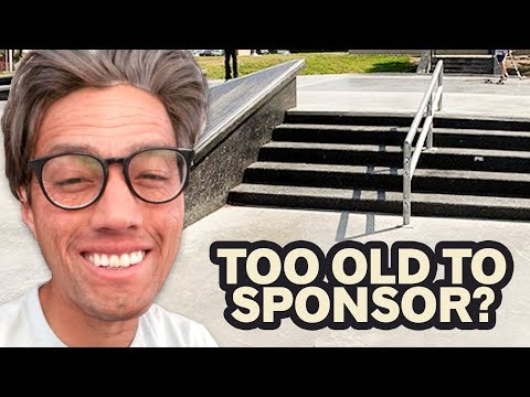 Can OLD SKATERS Still Get Sponsored?
