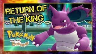 Pokemon Let's Go Pikachu & Eevee Wi-Fi Battle: Return of the King